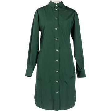 Sacai Green Cotton Dresses