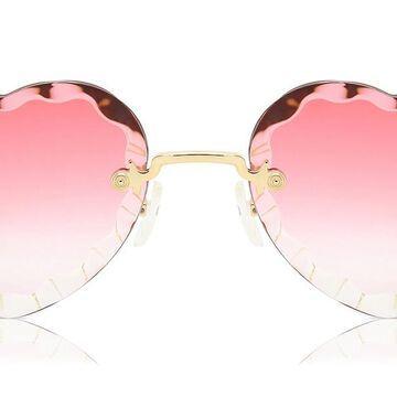 Chloe CE 150S 823 Womenas Sunglasses Gold Size 55