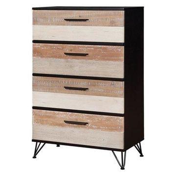 Furniture of America Sizzon 4 Drawer Chest in Espresso