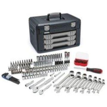 KD Tools 80943 0.25 & 0.37 in. Drive Metric Mechanics Hand Tool Set - 168 Piece