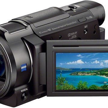 Sony Black 4K Camcorder With 1/2.3