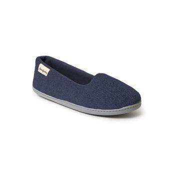 Dearfoams Chenille Womens Slip-On Slippers