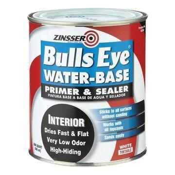 Rust -Oleum 2244 Bulls Eye WaterBase Primer Sealer Quart- pack of 6