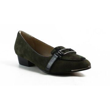 Isola Womens Green Loafers Size 6