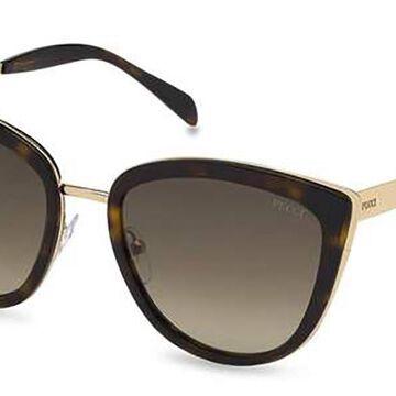 Emilio Pucci EP0092 52F Womenas Sunglasses Tortoise Size 55