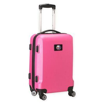 NHL New York Islanders 20-Inch Hardside Carry On Spinner in Pink