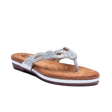 GC Shoes Women's Linnet Thong Sandal