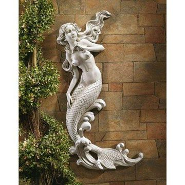 Design Toscano The Mermaid of Langelinie Cove Wall Sculpture