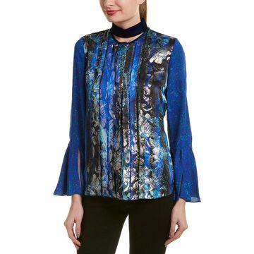 Elie Tahari Silk-Blend Top
