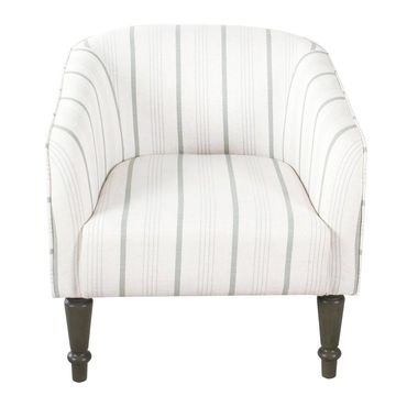 Traditional Barrel Chair - HomePop