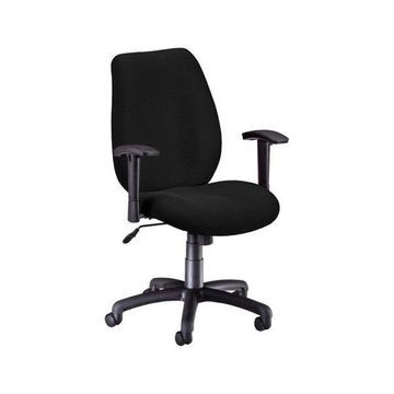 OFM Ergonomic Manager's Chair with Adjustable Arms in Ebony