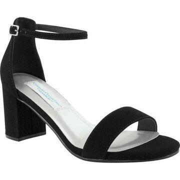 Touch Ups Women's January Sandal Black Suede
