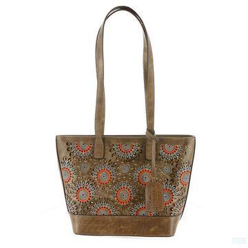 Spring Step HB Starburst Tote Bag Tan Bags No Size