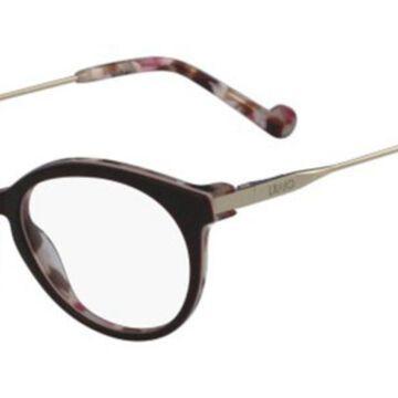 Liu Jo LJ2678 529 Womens Glasses Burgundy Size 48 - Free Lenses - HSA/FSA Insurance - Blue Light Block Available