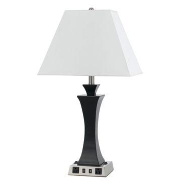 60W X 2 Metal Night Stand Lamp - Cal Lighting