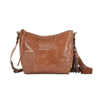 Silverlake Leather City Leather Crossbody, Created for Macys