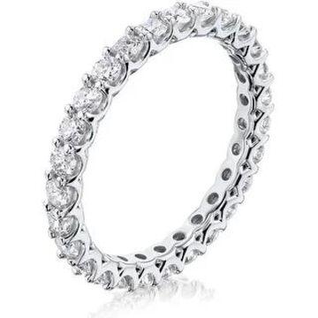 Annello by Kobelli 14K Gold Diamond Deep U-Prong Eternity Ring (GH/I)