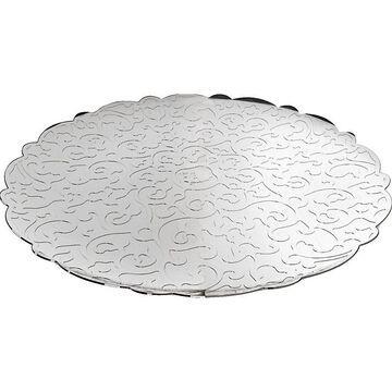 Dressed round tray 35cm
