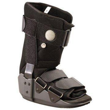 OTC Valuline Pneumatic Low Top Walker Boot, Black, Large