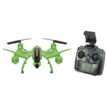 World Tech Toys ZX-33819 Glow in The Dark Mini Orion Spy Drone with Live View