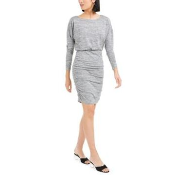 Bar Iii Ruched Mini Dress, Created For Macy's