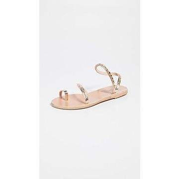 Ancient Greek Sandals Apli Eleftheria Diamonds Sandals