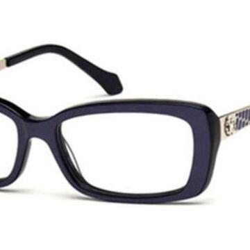 Roberto Cavalli RC 822 ALRAI 083 Womenas Glasses Violet Size 53 - Free Lenses - HSA/FSA Insurance - Blue Light Block Available