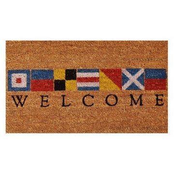 Home & More Nautical Welcome Doormat