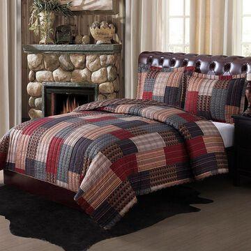 Remington Gunnison Quilt Set, Multicolor, King
