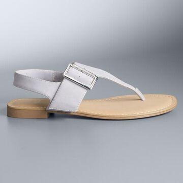 Simply Vera Vera Wang Belmac Women's Sandals