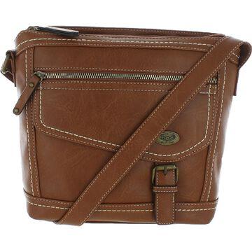 B.O.C. Born Concepts Womens Ambern Crossbody Handbag Faux Leather Pouch - Medium