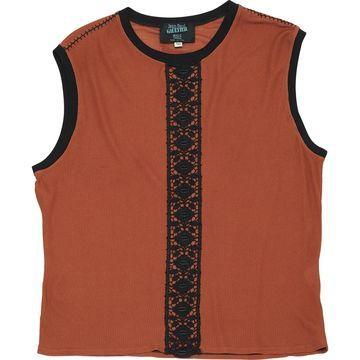 Jean Paul Gaultier Brown Viscose T-shirts
