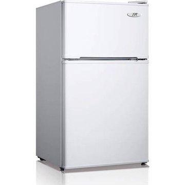 Sunpentown 3.5 cu. ft. Two Door Refrigerator with Energy Star