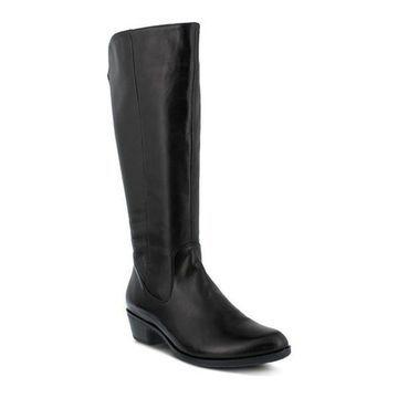 Spring Step Women's Bolah Boot Black Leather