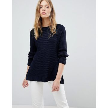 QED London Ribbed Sweater