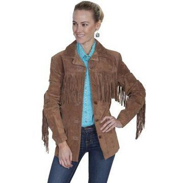 Scully Leather Suede Fringe Jacket, L74-81-XXL