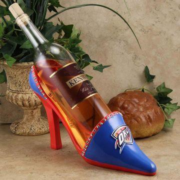 Oklahoma City Thunder High Heel Shoe Bottle Holder - Royal Blue