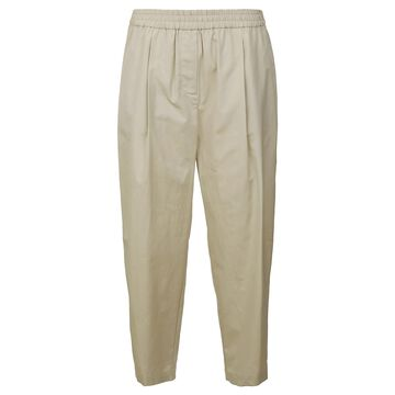 Aspesi Plain Cropped Trousers