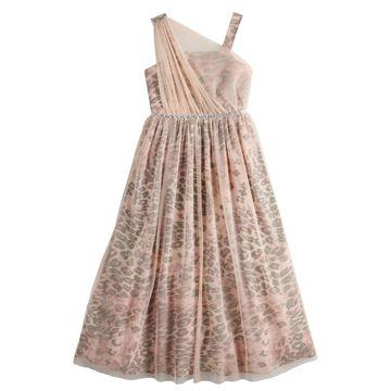 Girls My Michelle Asymmetrical Maxi Dress