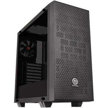 Thermaltake Core G21 Dual 4mm Tempered Two-Toned Glass Power Cover ATX Black Gam