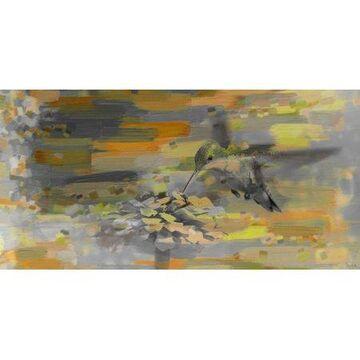 Parvez Taj Whirly Bird Art Print on Premium Canvas