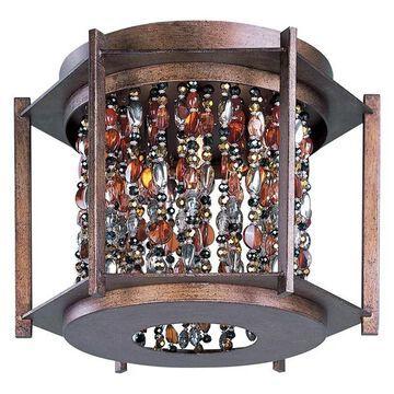 Maxim Lighting 21570CT Trinket 3-Light Flush Mount