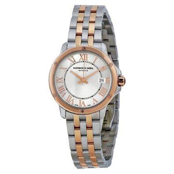 Raymond Weil Women's 5391-SB5-00658 'Tango' Two-Tone Stainless Steel Watch