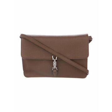 Soft Jackie Mini Crossbody Bag Brown