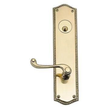 Single Deadbolt Passage Door Set, 2-3/8