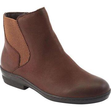David Tate Women's Torrey Chelsea Boot Brown Nubuck Leather