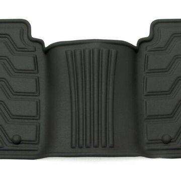 Rampage 5230610 Catch-It Rear Floor Mat, Black Vinyl
