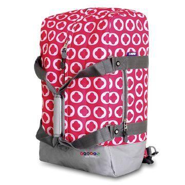J World Duncan 19 Inch 3 Way Weekender Duffel Bag