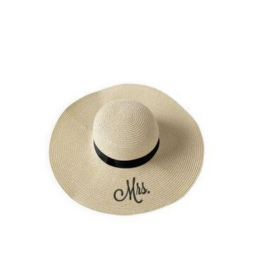 Cathy's Concepts Women Mrs. Natural Straw Sun Hat - -