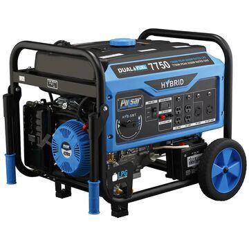 Pulsar 7750 Watt Dual Fuel Portable Generator (PG7750B)
